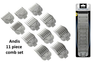 Andis Snap-On Blade Attachment Combs 11 Piece Set item # 66565 fits US-1, LCL an