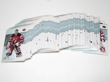 Lot of 2 - 2007-08 Upper Deck ICE Complete Base Set 1-100! Crobsy Ovechkin