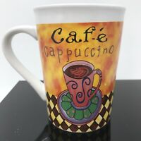 ROYAL NORFOLK Greenbrier Cafe Cappuccino Coffee Mug Cup