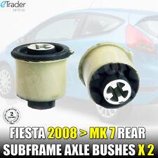 FORD FIESTA MK7 08-14 REAR SUBFRAME AXLE MOUNT BUSH x 2 BUSHES NEW