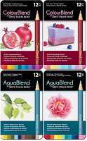 SPECTRUM NOIR ColourBlend and/or AquaBlend Artist Pencils Crafters Companion