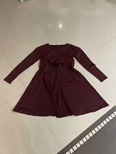 Designer HelenA Kleid Spitze Abendkleid Spitzenkleid 38 40 M L Rock Bordeaux