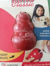 DOG TOY, KONG CLASSIC< SMALL / PETITE SIZE, MADE IN USA