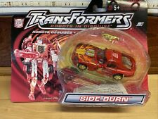 Transformers Action Figure Deluxe RID Robot in Disguise Side Burn Red NOC