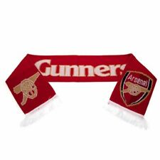 ARSENAL FC KNITTED TEAM SCARF SCARVES 10G FOOTBALL CLUB WINTER NEW XMAS GIFT
