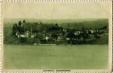 1923 Gavirate - Biandronno, campanile AFFRANCATURA INTERESSANTE FP B/N VG