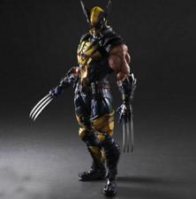 Play Arts Kai Marvel Universe Wolverine Variant Square Enix Action Figure Statue