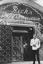 HUMPHREY BOGART CASABLANCA B&W 36X24 POSTER PRINT ICONIC RICK'S CAFE AMERICAIN