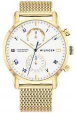 Tommy Hilfiger   Heren Armband Van Goudkleurig Staal 1710403 Horloge -16%!