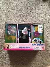 2000 Barbie Ping Ping Panda Zoo Babies Collection Brand New