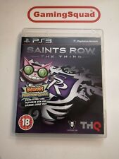 Saints Row The Third PS3 Playstation, Supplied by Gaming Squad Ltd