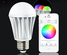Wireless Smart LED Light Bulb Bluetooth Home DJ with RGB Lamp For iPhone Samsung