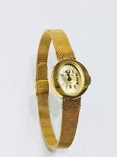 Vintage Geneva 17JEWELS Mechanical Windup Gold Tone Ladies Wrist Watch(10264M)