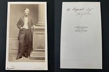 Cremière, Paris, Regnard, ingénieur Vintage albumen print CDV. Tirage albu