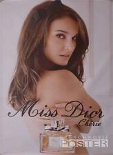 MISS DIOR - PERFUME - NATALIE PORTMAN - ORIGINAL LARGE FRENCH ADVERTISING POSTER