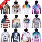 Galaxy Space Cool Stylish Hoodie 3D Men Woman Mens Sweatshirt Hoody Sport Top