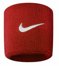 Nike- Swoosh Wristband- Red-