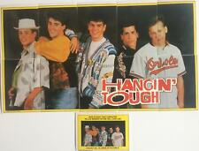 New Kids on the Block Music Sticker Card Set by Topps 11 cards Hangin Tough