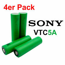 4x Sony Konion VTC5A Akku /4 Stück US18650VTC5A 18650 Batterie Zelle 2600mAh 35A