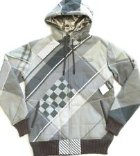 BILLABONG Coat Jacket Hood Fully Lined Gray SOLD OUT DEADSTOCK Mens Medium NEW