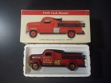 1948 TANK MASTER FIRE TRUCK 1/64 DIE CAST MUSCLE CAR NEW NIB High Speed