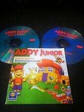 Addy Junior Spiel & Wissen * 2 CD-Rom Lernspiel Lernspaß für PC & MAC Spiel