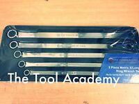 Britool Hallmark Extra Long Flat Ring Spanner Wrench Set 10-22mm