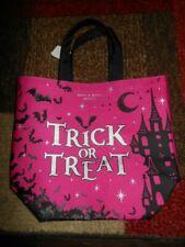 Bath & Body Works Halloween 2020 Trick or Treat Tote/Bag . Pink/black/silver