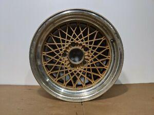 WHEEL 16x8 ALUMINUM GOLD 5 SPOKE REAR NSN 560-01508A 88-90 Firebird One-Piece