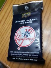 2008 UD Yankees 25 Card Fan Pack-New in sealed pack