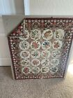antique vintage wall hanging tapestry