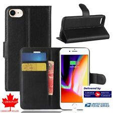 For Iphone 7/8 Flip Slot Wallet Soft Case/Cover/Card Holder Kickstand Pouch