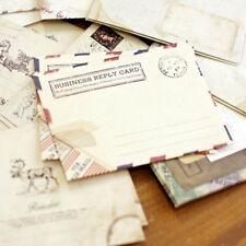 Retro Greeting Letter Envelope Envelopes Vintage Envelope Paper Stationery