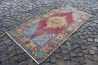 Vintage rug, Carpet, Ethnic rug, Wool rug, Area Rug, Turkish rug   3,1 x 6,3 ft