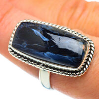 Pietersite 925 Sterling Silver Ring Size 8.5 Ana Co Jewelry R42973F