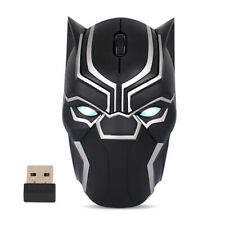 Avengers 4: Endgame Superhero Black Panther Wireless Bluetooth Mice Fancy Gifts
