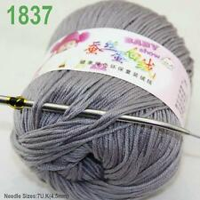 Sale New 1 ball x50gr Cashmere Silk Velvet Baby Children Hand Knitting Yarn 37