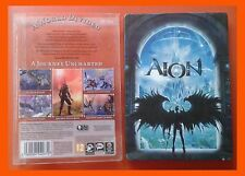 Aion Metal Box and  Instal Code Pc DVD 30 Days Of Play Included Video Game  2CD