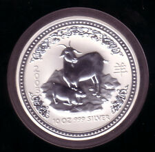 Australien 2003 - 10 Unzen Silber Lunar I - Ziege - selten