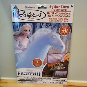 Colorforms Frozen II Horse Elsa Sticker Story Adventure Repositionable Disney