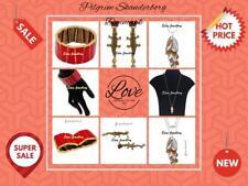 PILGRIM Skanderborg, Denmark Danish Design Necklace Bracelet Aligator Earrings