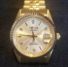 Croton Automatic 6 Diamond 5ATM 165 ft. Mans Watch. Unused