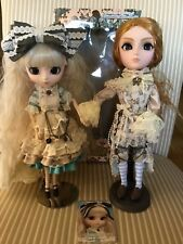 Pair Romantic Mad Hatter Teayang Doll With Romantic Alice Pullip Doll EUC