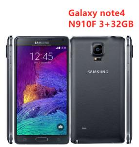 "Samsung Galaxy Note4 N910F Unlocked Smart phone 5.7"" 32GB NFC with Fingerprint"