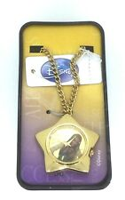 Miley Cyrus Hannah Montana Star shaped Watch necklace official Disney