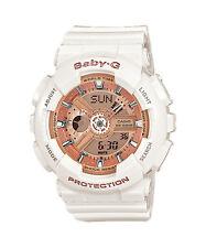 Casio Baby-g Uhr Ba-110-7a1er weiß Damenuhr