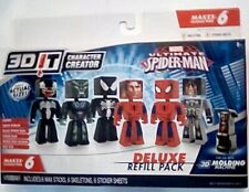 Marvel 3D It Character Creator Ultimate SpiderMan Deluxe Refill Pack New