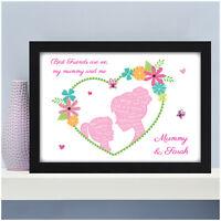 PERSONALISED Mum Nanny Mummy Granny Nanna Auntie Birthday Gifts for Her