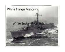 HMS Cavendish D15. 8x6 20x15cm Floppy Photo. Unique photo. Nato Exercise 1957.