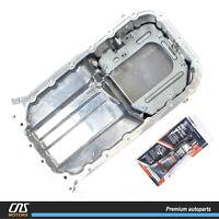 ⭐GENUINE⭐ Engine Oil Pan W// Silicone for 06-11 Hyundai Accent Kia Rio 2151026601